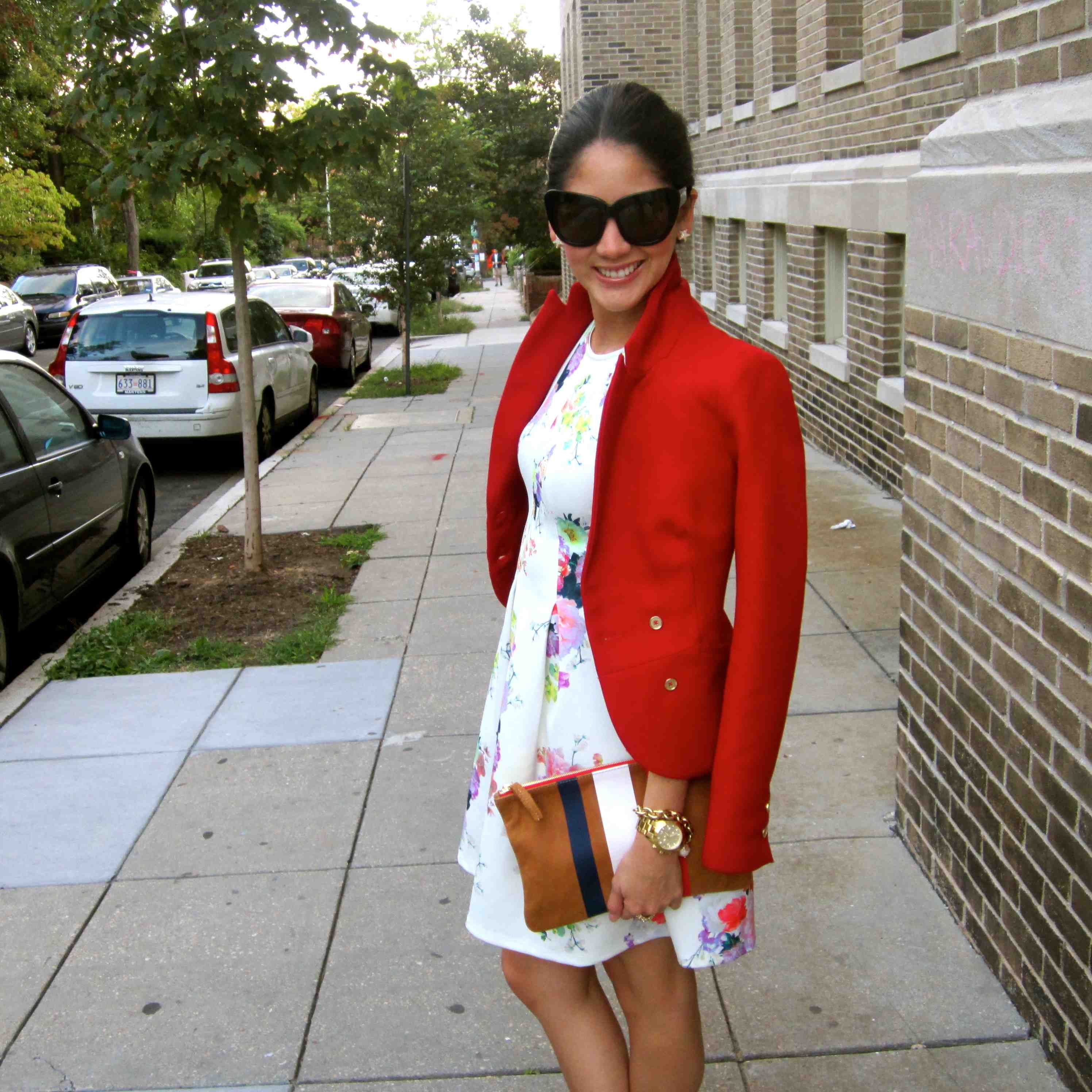 Pop of Red – Maria On Point