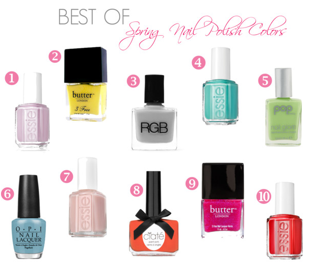 Spring Colors Nail Polish 2015 Best Auto Reviews